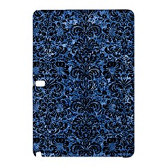 Damask2 Black Marble & Blue Marble Samsung Galaxy Tab Pro 12 2 Hardshell Case by trendistuff