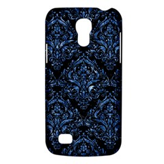 Damask1 Black Marble & Blue Marble Samsung Galaxy S4 Mini (gt I9190) Hardshell Case  by trendistuff