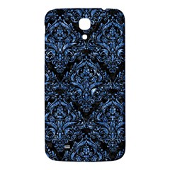 Damask1 Black Marble & Blue Marble Samsung Galaxy Mega I9200 Hardshell Back Case by trendistuff