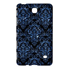 Damask1 Black Marble & Blue Marble Samsung Galaxy Tab 4 (7 ) Hardshell Case  by trendistuff