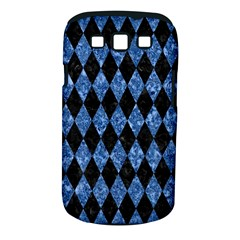 Diamond1 Black Marble & Blue Marble Samsung Galaxy S Iii Classic Hardshell Case (pc+silicone) by trendistuff