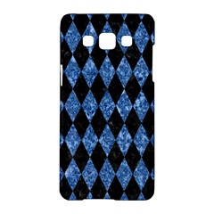 Diamond1 Black Marble & Blue Marble Samsung Galaxy A5 Hardshell Case