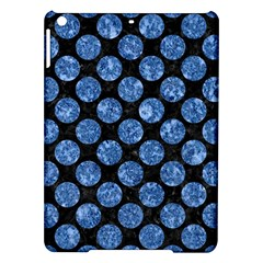 Circles2 Black Marble & Blue Marble (r) Apple Ipad Air Hardshell Case by trendistuff