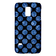 Circles2 Black Marble & Blue Marble (r) Samsung Galaxy S5 Mini Hardshell Case  by trendistuff