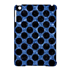 Circles2 Black Marble & Blue Marble Apple Ipad Mini Hardshell Case (compatible With Smart Cover) by trendistuff