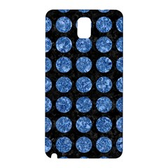 Circles1 Black Marble & Blue Marble (r) Samsung Galaxy Note 3 N9005 Hardshell Back Case by trendistuff