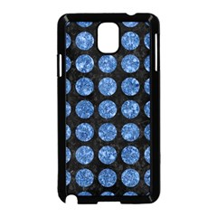 Circles1 Black Marble & Blue Marble (r) Samsung Galaxy Note 3 Neo Hardshell Case (black) by trendistuff