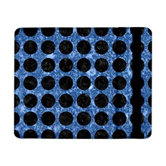 Circles1 Black Marble & Blue Marble Samsung Galaxy Tab Pro 8 4  Flip Case by trendistuff