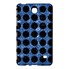 Circles1 Black Marble & Blue Marble Samsung Galaxy Tab 4 (8 ) Hardshell Case  by trendistuff