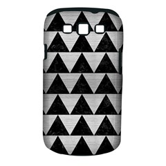 Triangle2 Black Marble & Silver Brushed Metal Samsung Galaxy S Iii Classic Hardshell Case (pc+silicone) by trendistuff