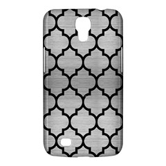 Tile1 Black Marble & Silver Brushed Metal (r) Samsung Galaxy Mega 6 3  I9200 Hardshell Case by trendistuff