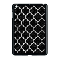 Tile1 Black Marble & Silver Brushed Metal Apple Ipad Mini Case (black) by trendistuff