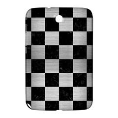 Square1 Black Marble & Silver Brushed Metal Samsung Galaxy Note 8 0 N5100 Hardshell Case  by trendistuff