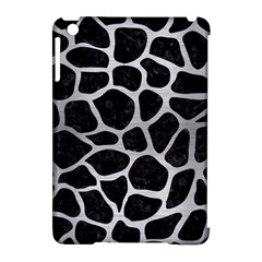 Skin1 Black Marble & Silver Brushed Metal (r) Apple Ipad Mini Hardshell Case (compatible With Smart Cover) by trendistuff