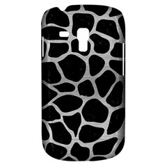 Skin1 Black Marble & Silver Brushed Metal (r) Samsung Galaxy S3 Mini I8190 Hardshell Case by trendistuff