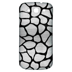 Skin1 Black Marble & Silver Brushed Metal Samsung Galaxy S3 S Iii Classic Hardshell Back Case by trendistuff