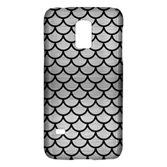 Scales1 Black Marble & Silver Brushed Metal (r) Samsung Galaxy S5 Mini Hardshell Case  by trendistuff