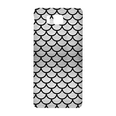 Scales1 Black Marble & Silver Brushed Metal (r) Samsung Galaxy Alpha Hardshell Back Case by trendistuff