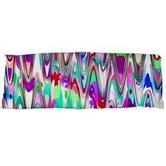 Funky Chevron Multicolor Body Pillow Cases Dakimakura (two Sides)  by MoreColorsinLife