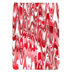 Funky Chevron Red Flap Covers (l)  by MoreColorsinLife