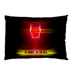 Famous Last Words   Du Kommst Auf Den Grill Pillow Cases (two Sides) by RespawnLARPer