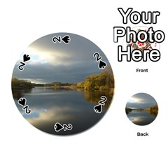 View   On The Lake Playing Cards 54 (round)  by Costasonlineshop