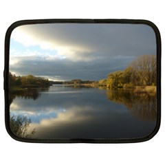 View   On The Lake Netbook Case (xl)  by Costasonlineshop