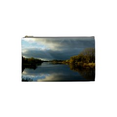 View   On The Lake Cosmetic Bag (small)  by Costasonlineshop