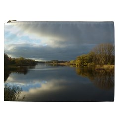 View   On The Lake Cosmetic Bag (xxl)  by Costasonlineshop