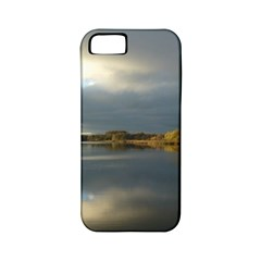 View   On The Lake Apple Iphone 5 Classic Hardshell Case (pc+silicone) by Costasonlineshop
