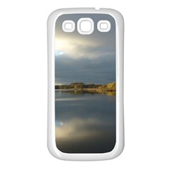 View   On The Lake Samsung Galaxy S3 Back Case (white) by Costasonlineshop