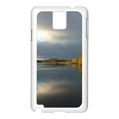 View   On The Lake Samsung Galaxy Note 3 N9005 Case (white) by Costasonlineshop