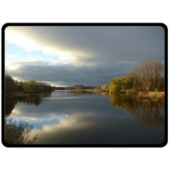 View   On The Lake Double Sided Fleece Blanket (large)  by Costasonlineshop