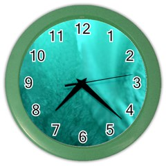 Floating Color Wall Clocks