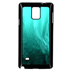 Floating Samsung Galaxy Note 4 Case (black)