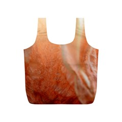 Floating Peach Full Print Recycle Bags (s)  by timelessartoncanvas