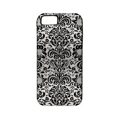 Damask2 Black Marble & Silver Brushed Metal (r) Apple Iphone 5 Classic Hardshell Case (pc+silicone) by trendistuff