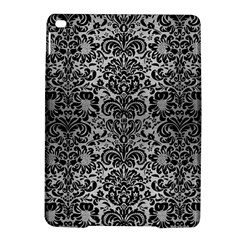 Damask2 Black Marble & Silver Brushed Metal (r) Apple Ipad Air 2 Hardshell Case by trendistuff