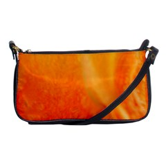 Floating Orange And Yellow Shoulder Clutch Bags by timelessartoncanvas