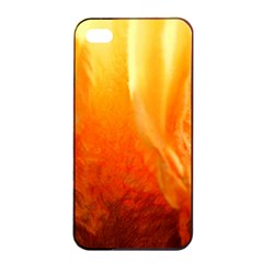 Floating Orange And Yellow Apple Iphone 4/4s Seamless Case (black) by timelessartoncanvas