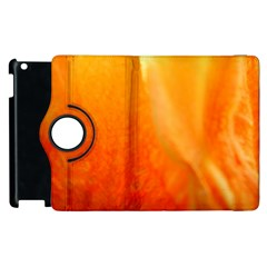 Floating Orange And Yellow Apple Ipad 3/4 Flip 360 Case by timelessartoncanvas