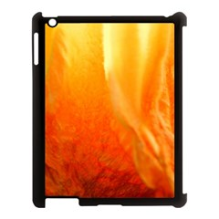 Floating Orange And Yellow Apple Ipad 3/4 Case (black) by timelessartoncanvas