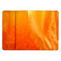 Floating Orange And Yellow Samsung Galaxy Tab 10 1  P7500 Flip Case by timelessartoncanvas