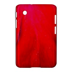 Red And Beautiful Samsung Galaxy Tab 2 (7 ) P3100 Hardshell Case  by timelessartoncanvas