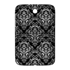 Damask1 Black Marble & Silver Brushed Metal Samsung Galaxy Note 8 0 N5100 Hardshell Case  by trendistuff
