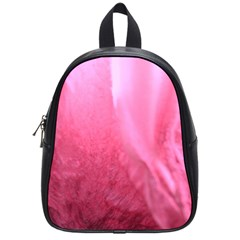 Floating Pink School Bags (small)  by timelessartoncanvas