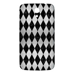 Diamond1 Black Marble & Silver Brushed Metal Samsung Galaxy Mega I9200 Hardshell Back Case by trendistuff