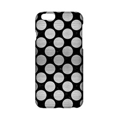 Circles2 Black Marble & Silver Brushed Metal Apple Iphone 6/6s Hardshell Case by trendistuff