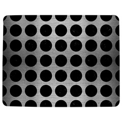 Circles1 Black Marble & Silver Brushed Metal (r) Jigsaw Puzzle Photo Stand (rectangular) by trendistuff