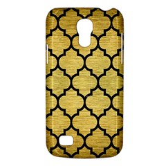 Tile1 Black Marble & Gold Brushed Metal (r) Samsung Galaxy S4 Mini (gt I9190) Hardshell Case  by trendistuff